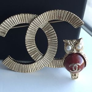 Authentic Vintage Chanel Brooch